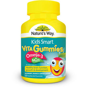 Kids Smart Vita KIDS Gummies Omega-3 + Multi - Hộp 50 viên