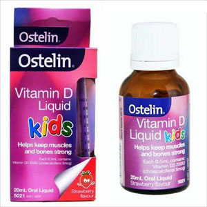 Ostelin Vitamin D Kids Liquid hộp 20 ml