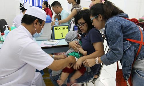 Thông báo kết thúc việc đăng ký tiêm vắc xin Pentaxim (5 trong 1) đợt 6