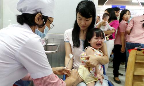 Thông báo kết thúc việc đăng ký tiêm vắc xin Pentaxim (5 trong 1) đợt 8