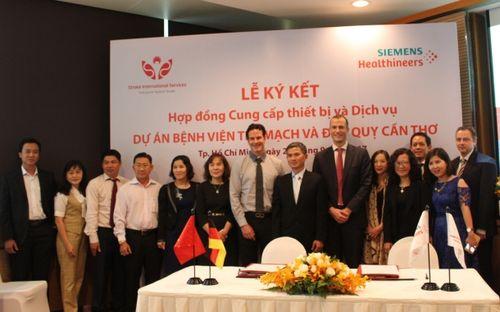 Siemens cấp thiết bị y tế cho bệnh viện đột quỵ đầu tiên ở ĐBSCL