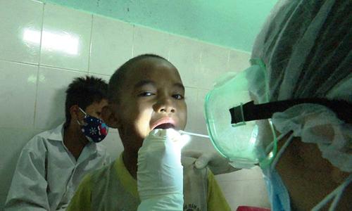 Ứng phó dịch bạch hầu tại Quảng Nam