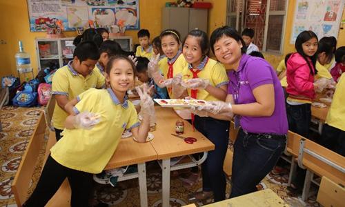 2500 học sinh tham gia dự án cân bằng dinh dưỡng học đường