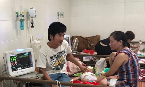 Bệnh tay chân miệng bùng phát ở Quảng Ngãi