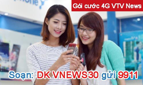 Gói cước 4G VTV News (gói tháng) cập nhật nhanh chóng các thông tin về mọi lĩnh vực của đời sống xã hội trong đó có y tế