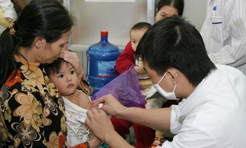 Chỉ 3,3% trường hợp mắc sởi đã được tiêm chủng