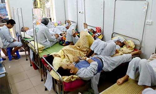 Hà Nội đã ghi nhận gần 6.000 ca mắc sốt xuất huyết